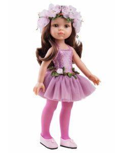 Papusa Carol balerina in roz, 32 cm - Paola Reina