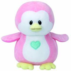Plus bebelusi pinguinul roz PENNY 15 cm, Ty