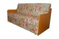 Canapea Sanda,extensibila,lada de depozitare,Trandafiri ,186X84X91 cm