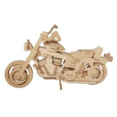 Puzzle 3D lemn motocicleta Harley 67 piese