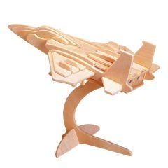 Puzzle 3D lemn avion 35 piese