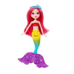 Papusa Barbie Dreamtopia Sirena Mini Rainbow