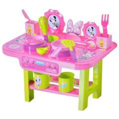 Set de joaca, Bucatarie Disney Minnie Mouse cu accesorii