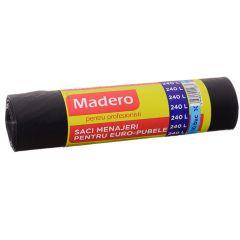 Saci menajeri Madero pentru profesionisti 240L - pubela (110x125cm), 10buc