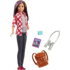 Papusa Barbie Skipper, cu accesorii pentru calatorii