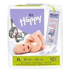 Aleze igienice absorbante Happy XL 90X60cm 10 buc