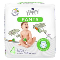 Scutece-chilotel Happy Pants Maxi 8-14kg 24buc