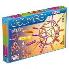 Set de constructie magnetic Geomag Color 127 piese