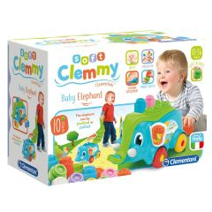 Set cuburi Soft Clemmy Elefantel 10 piese
