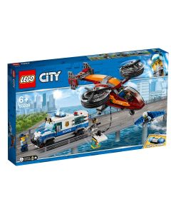 LEGO City Police Furtul diamantelor cu politia aeriana 60209