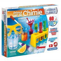 Joc educativ Clementoni Stiinta si joaca, Laborator de chimie