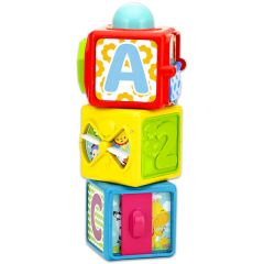 Cuburi activitati Fisher Price, Stivuibile