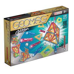 Geomag Glitter cu sclipici si panele 68 piese