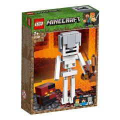 LEGO Minecraft Schelet Minecraft BigFig cu cub de magma 21150