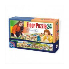 Puzzle Floor 24 Piese Calatoriile lui Gulliver