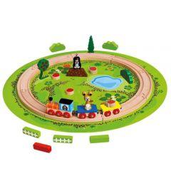 Trenulet cu Sina Circulara Little Mole