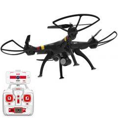 Quadcopter Explorers WiFi FPV cu Camera Video HD Negru