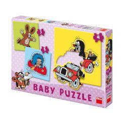 Set Puzzle-uri - Micuta Cartita 3-5 Piese