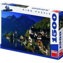 Puzzle Sat Langa Lac 1500 Piese