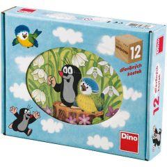 Puzzle Cubic Little Mole 12 Piese
