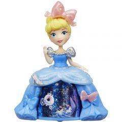 Mini Figurina Disney Princess Cenusareasa cu Rochita Rotativa