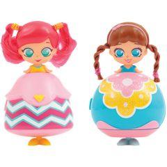 Set 2 Gentute cu Cosmetice Kekilou Transformabile in Papusi Chloe si Mya