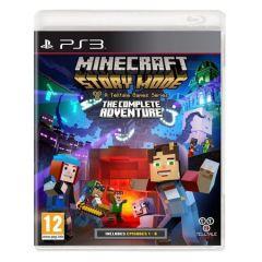 Joc Minecraft Story Mode The Complete Adventure pentru PS3
