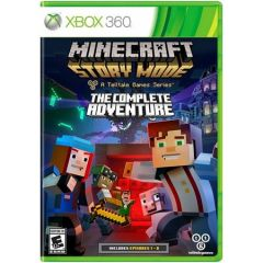 Minecraft Story Mode The Complete Adventure pentru Xbox 360