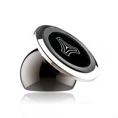 Suport Auto Universal din metal pentru telefon cu magnet ajustabil 360 negru, Widras - Widras2