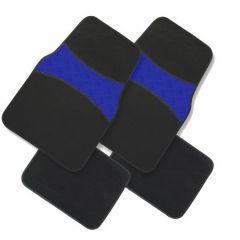 Set covorase auto Procar mocheta Confort Alu - albastru