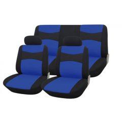 Set huse auto Procar Como, 9 piese, albastru