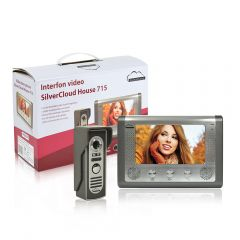 Interfon video SilverCloud House 715 cu ecran LCD de 7 inch