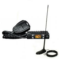 Kit statie radio CB CRT One + Antena PNI Extra 45