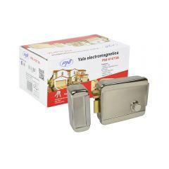 Yala electromagnetica PNI H1073A din otel cu butuc Fail Secure NO