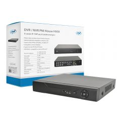 DVR / NVR PNI House H808 - 8  canale IP 720P Real Time sau 8 canale analogice