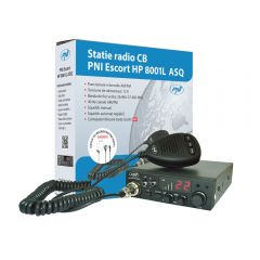 Statie radio CB PNI Escort HP 8001L ASQ include casti cu microfon HS81L
