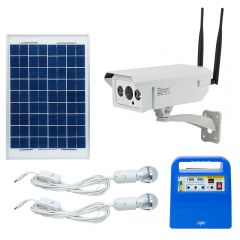 Camera supraveghere video PNI IP30 4G + Kit solar fotovoltaic PNI GreenHouse H01