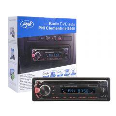 Radio DVD auto PNI Clementine 9440 1 DIN radio FM, SD, USB, iesire video