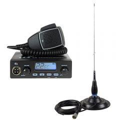 Kit Statie radio CB TTi TCB-550 + Antena PNI ML145 cu magnet 145/PL
