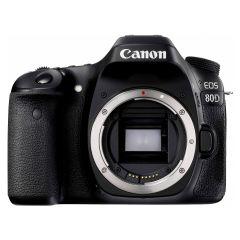 Canon EOS 80D Body, Premium KIT (Include: Rucsac Vanguard Reno 41KG, Acumulator suplimentar Jupio LP-E6, Card 32GB Lexar 95MB/s si Kit de Curatare 5 in 1)