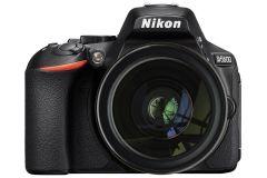 Aparat foto DSLR Nikon D5600, Obiectiv 18-105mm VR, Negru