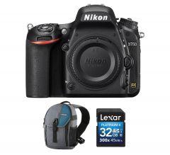 Aparat Foto DSLR Nikon D750, 24.3 MPx, Body, PRO KIT (Include: Rucsac Vanguard, Card Memorie 32GB)