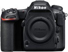 Aparat Foto DSLR Nikon D500 Body, PRO KIT (Include: Rucsac Vanguard, Card Memorie 32GB