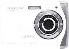 Camera Foto Subacvatica EasyPix W1024 Splash, 16 MPx, Afisare Data, Alb + Bonus Husa