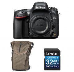 Aparat Foto DSLR Full-Frame Nikon D610 Body +BONUS: Rucsac Vanguard si Card Memorie 32GB