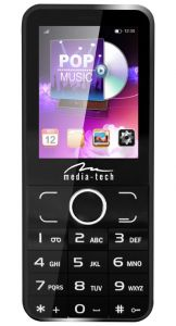 Telefon mobil Media-Tech 2Phone MT857, Dual SIM, Black