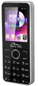 Telefon mobil Media-Tech 2Phone MT857, Dual SIM, Grey
