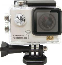 Camera video sport GoXtreme Vision 4K @24fps cu WiFi, 170 grade, 12 MPx, Senzor Pro SONY IMX078 (Include 8 Accesorii), KIT PRO cu BONUS: MicroSD 32GB + Sistem Montare Piept