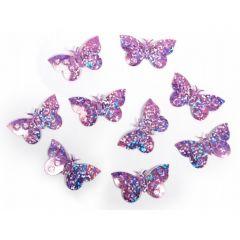 Confeti fluturi, Lila