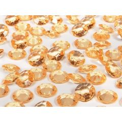 Cristale diamant, Auriu, 100 buc